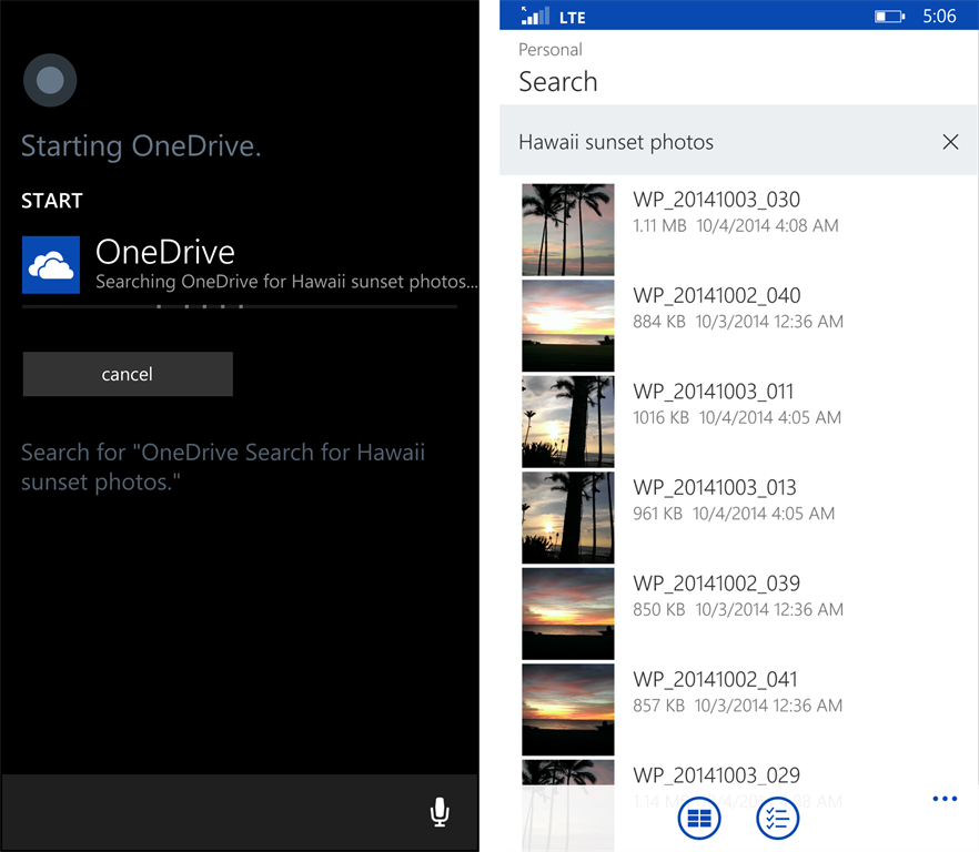 OneDrive Android and Windows Phone apps: Updates Released