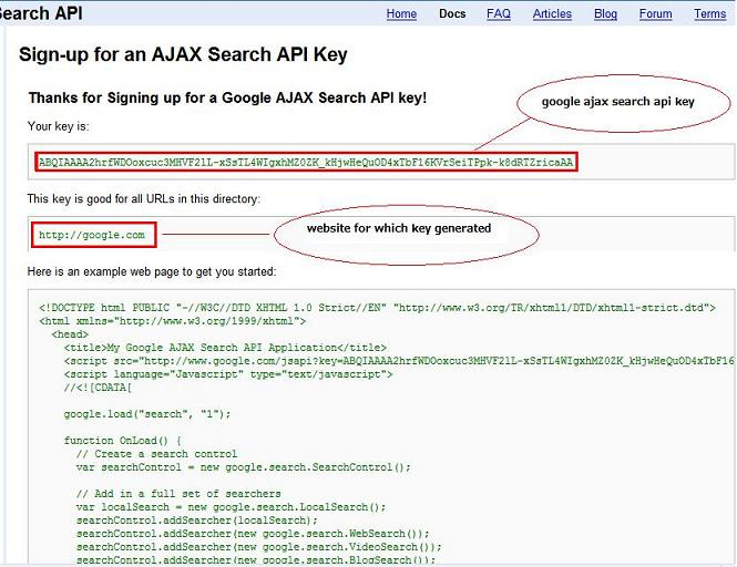 Purvi's Blog: How to use google ajax search api to embed video searh