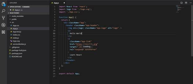 Folder Structure In React