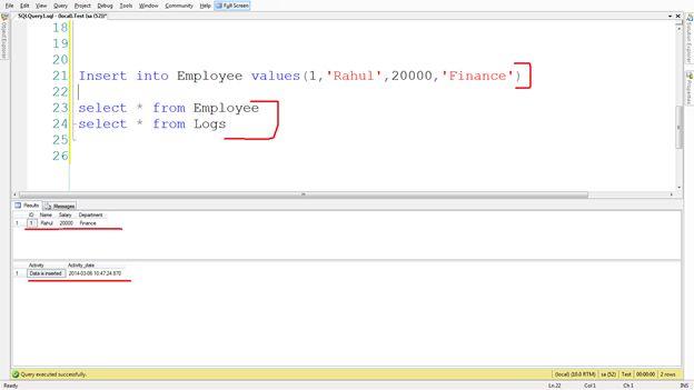 After trigger vs instead of trigger in sql server - Alter table sql server example ...