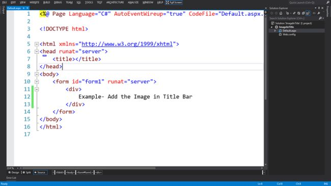 how to add website logo in html