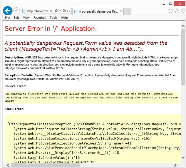 form value html default