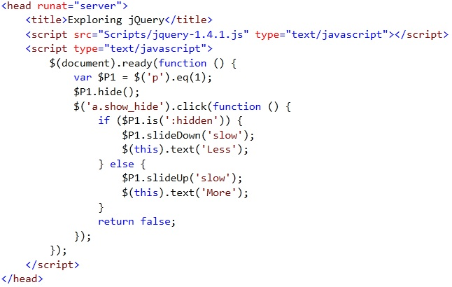 Jquery toggle hide show onclick - Jquery toggle div ...