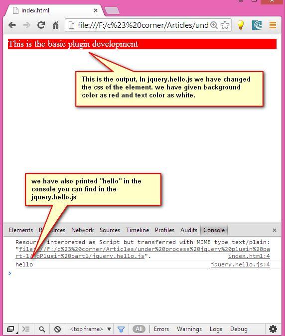 write jquery plugin Jquery: the write less, do more, javascript library.