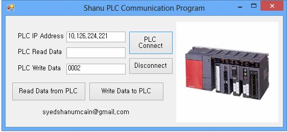 PLC Communication Using  Net
