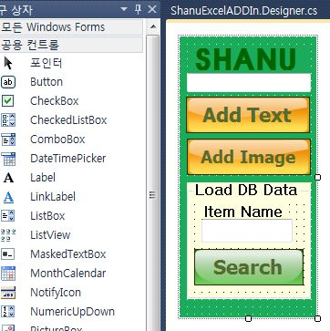 VSTO Excel and Word Add-In C#