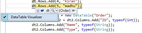 How To Merge Two DataTables Into One Using C#