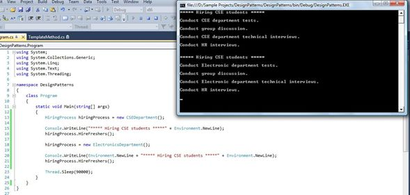 Abstract Class in implementation in Csharp