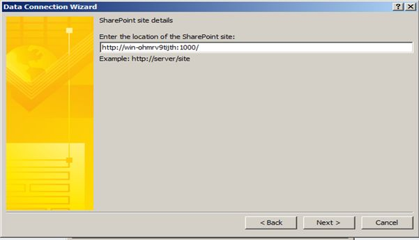 Bind InfoPath 2010 Dropdown List With SharePoint 2010 List dynamically