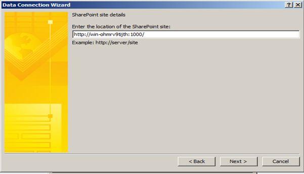 Bind InfoPath 2010 Dropdown List With SharePoint 2010 List dynamically