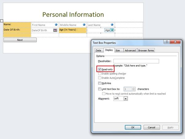infopath sharepoint online Calculate Age in Year in InfoPath Form in SharePoint 2010