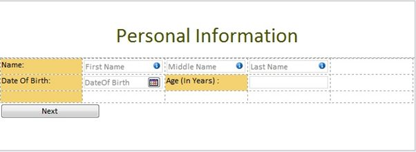 infopath sharepoint 2013infopath sharepoint Calculate Age in Year in InfoPath Form in SharePoint 2013
