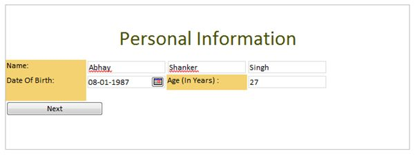 infopath sharepoint 2010 Calculate Age in Year in InfoPath Form in SharePoint 2010
