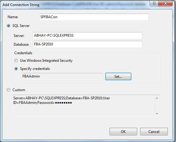 Forms-Based Authentication (FBA) Configuration in SharePoint 2019