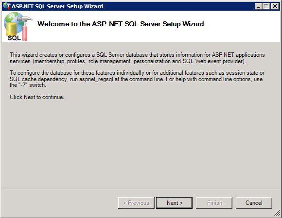 Framework folder on the server