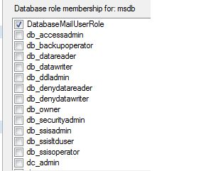 Database Role Membership