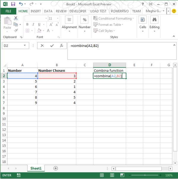 use-of-combina-function-in-excel2013.jpg