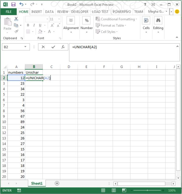 Use-of-unichar-function-in-excel2013.jpg