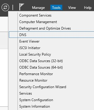 Using DNS Server to Add New Host and New Zones in Windows