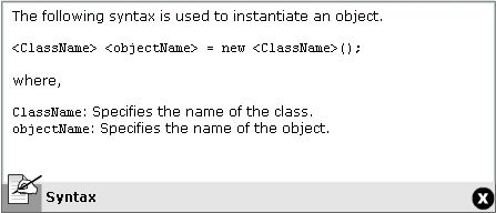 Object Syntax