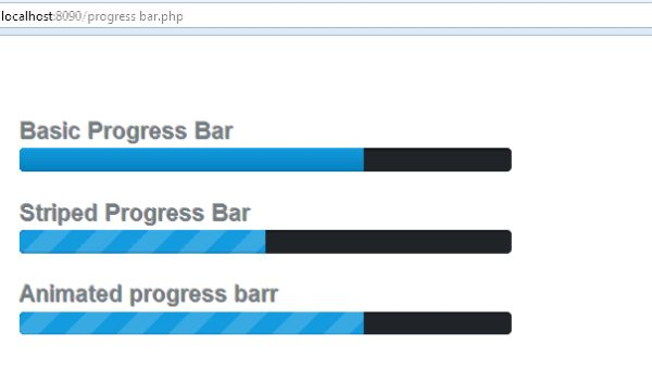 How To Make Progress Bar Using Bootstrap & PHP - HowDescribe