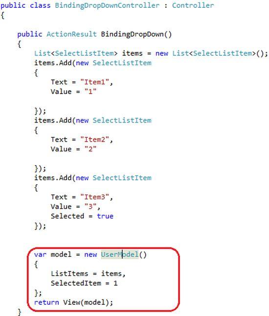 Ways To Bind Dropdown List In ASP.Net MVC