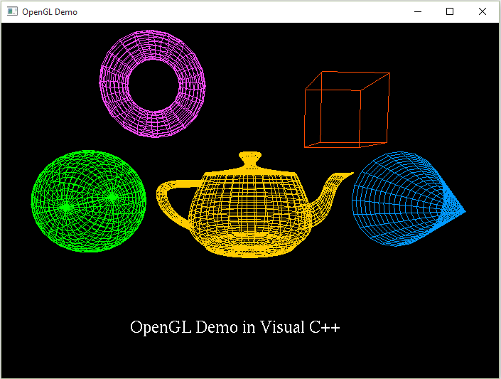 Getting Started With OpenGL In Visual C++