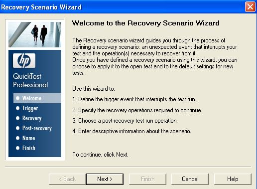 Session 13: qtp gui error handling with recovery scenario youtube.