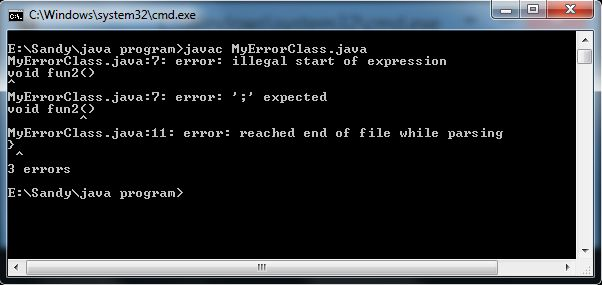Write a program to show typecasting in java with output contract