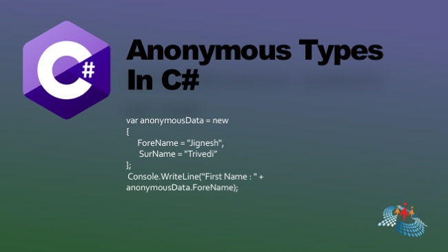 Anonymous Types In C#