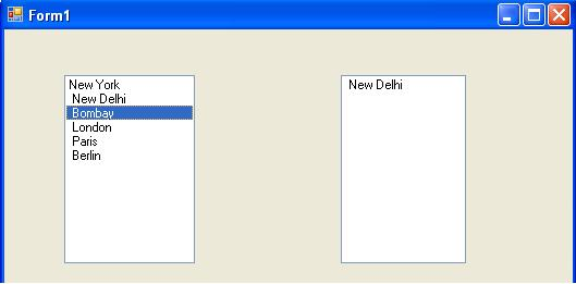 Drag-and-Drop Operation in Windows Forms and C#