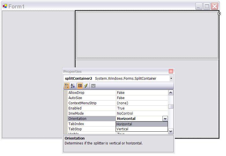 how to set visual studio code vertical panel