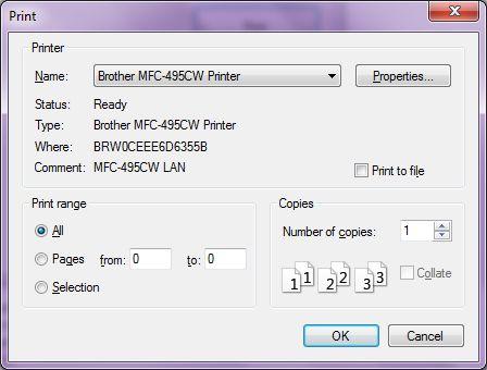 PrintDialog In C#