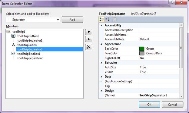 Build ToolBars Using ToolStrip Control In C#