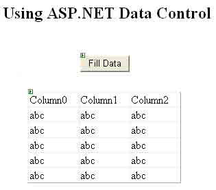 Viewing Data in a DataGrid Control in ADO NET