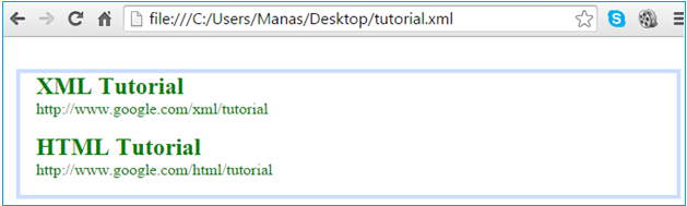 Styling Xml Data With Xslt And Css