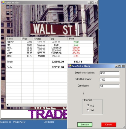 Paper trading options software