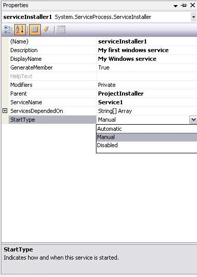 Writing a Windows Service in Managed C++