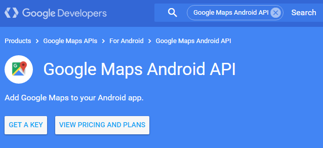 Google Map Implementation In Android App