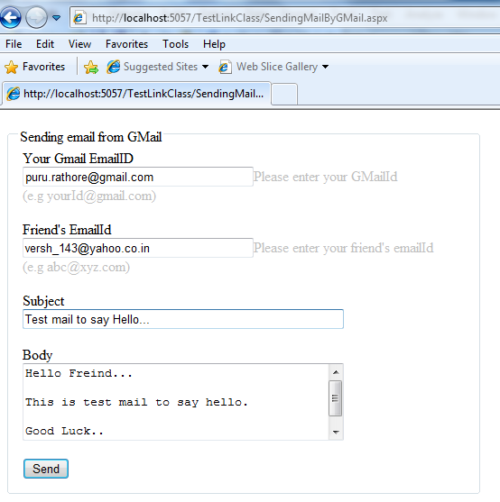 how to send mail from gmail without login your gmail account