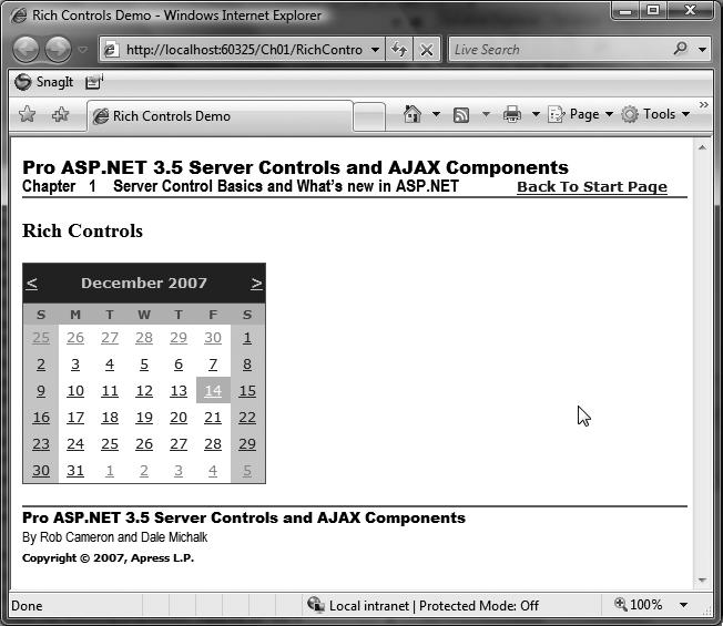 ASP NET Controls】Chapter I: Server Control Basics - 王丹小
