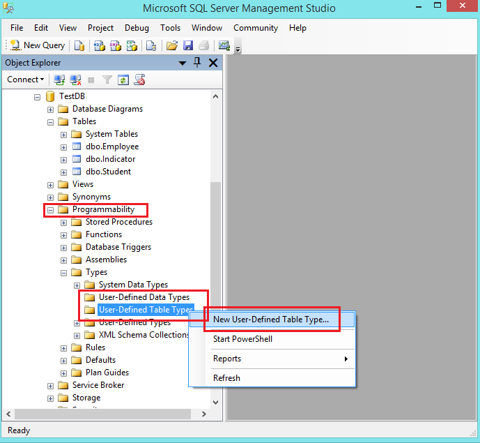 Table value parameter in asp net using sql server - Alter table change data type sql server ...