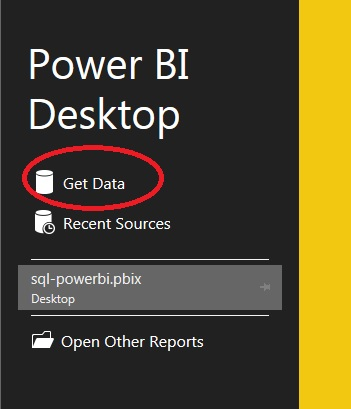 Create Power BI Report with MS Access Database
