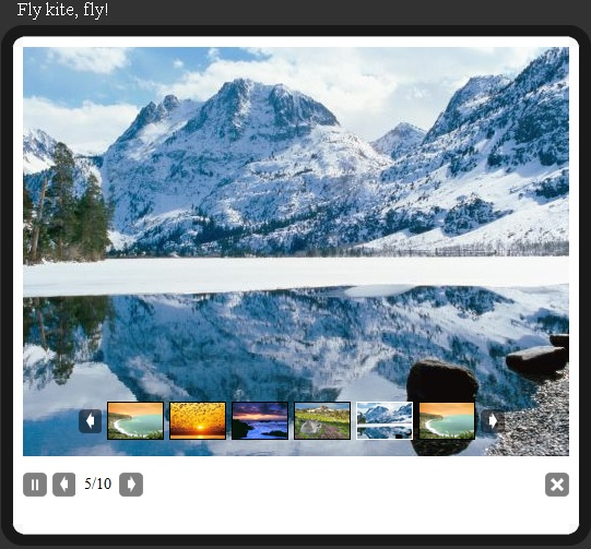 how to make a slideshow with jquery