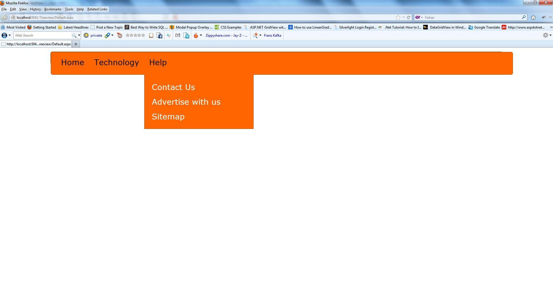 Responsive asp. Net menu control with twitter bootstrap techbrij.
