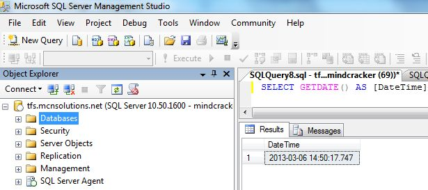 Getting Some Useful Date and Time Information From Getdate Function in SQL  Server 2012