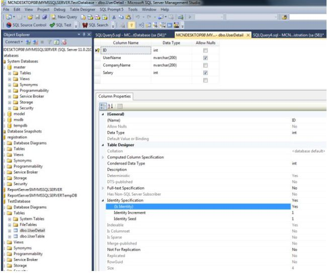 Global variables in sql server 2012 for Table variable in sql server