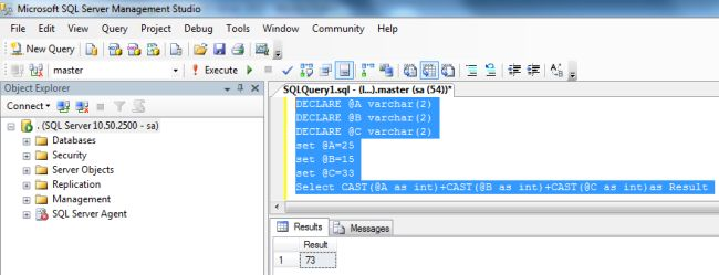 Cast And Convert Examples In Sql Server