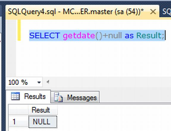 assign null in order to datetime