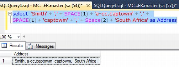 how to call scalar function in sql server